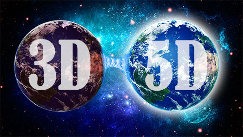 3D to 5D Earth